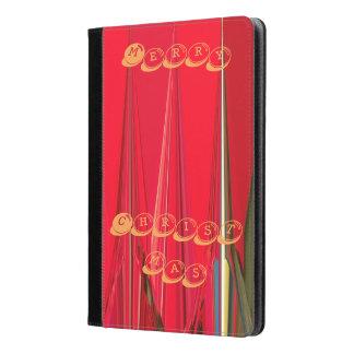Caja roja del aire del iPad de las Felices Navidad