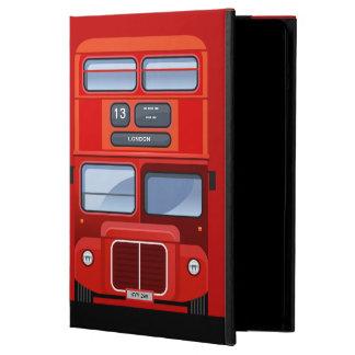 Caja roja del aire del iPad del autobús del autobú
