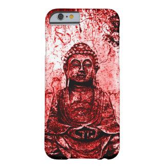 Caja roja del arte del Grunge de Buda Funda Para iPhone 6 Barely There