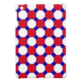 Caja roja del cojín del octágono