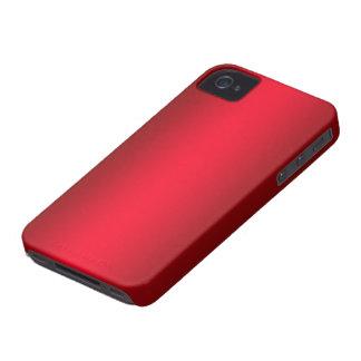 Caja roja del compañero del caso del iPhone 4/4S iPhone 4 Case-Mate Carcasa