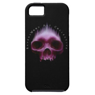 Caja roja del cráneo Iphone5 de RavensWood iPhone 5 Fundas