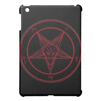 Caja roja del iPad de Baphomet