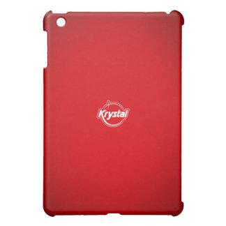 Caja roja del iPad de Krystal