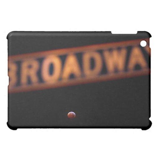 Caja roja del iPad de la luna del eclipse lunar de