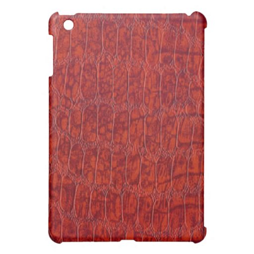 Caja roja del iPad de la mota del modelo del cuero
