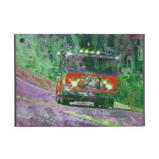 Caja roja del iPad del camión del bombero del coch iPad Mini Cobertura