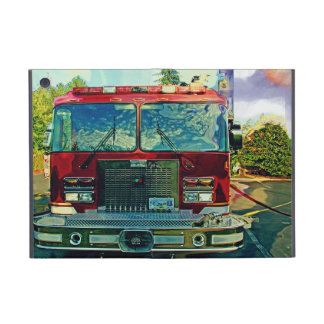 Caja roja del iPad del camión del bombero del coch iPad Mini Carcasa