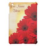 Caja roja del iPad del Gerbera