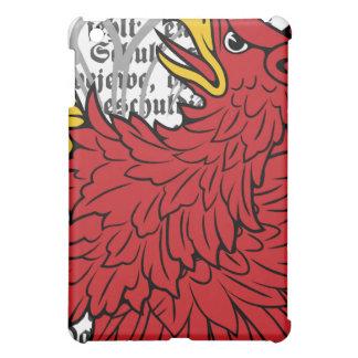 Caja roja del iPad del grifo