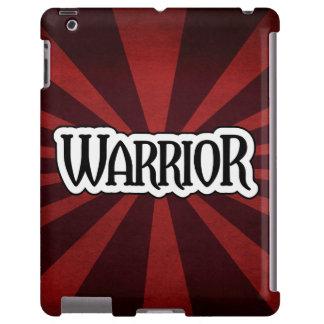 Caja roja del iPad del guerrero de Starburst