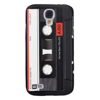 Caja roja del iPhone 3 de la cinta de casete Carcasa Para Galaxy S4