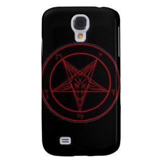 Caja roja del iPhone 3G de Baphomet Carcasa Para Galaxy S4