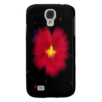 Caja roja del iPhone 3G de la nebulosa de la capuc Funda Para Galaxy S4