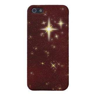 Caja roja del iPhone 4 de la estrella que desea 6 iPhone 5 Cárcasa