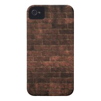Caja roja del iPhone 4 de la foto de la pared de l Case-Mate iPhone 4 Fundas