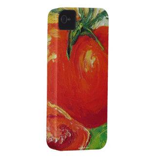 Caja roja del iPhone 4 del tomate Carcasa Para iPhone 4 De Case-Mate