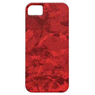 Caja roja del iPhone 5/5S Barely There Funda Para iPhone SE/5/5s