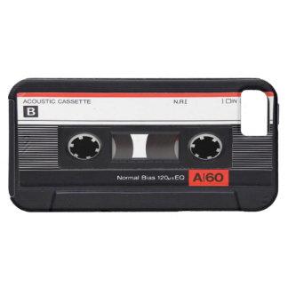 Caja roja del iPhone 5 de la cinta de casete iPhone 5 Coberturas