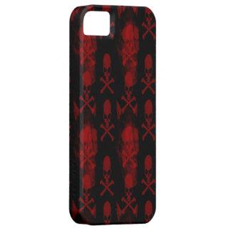 Caja roja del iPhone 5 de los cráneos iPhone 5 Cárcasa