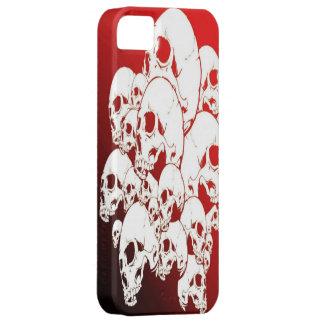 Caja roja del iPhone 5 del cráneo iPhone 5 Cobertura