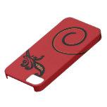 Caja roja del iPhone 5 del instinto iPhone 5 Case-Mate Protectores
