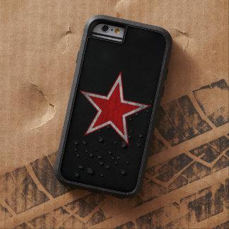Caja roja del iphone 6 de la estrella de Rusia Funda De iPhone 6 Tough Xtreme