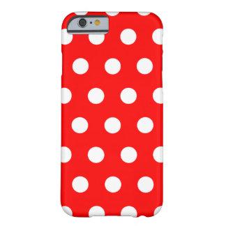 Caja roja del iPhone 6 del lunar