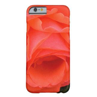 Caja roja del iPhone 6 del rosa rojo Funda Para iPhone 6 Barely There