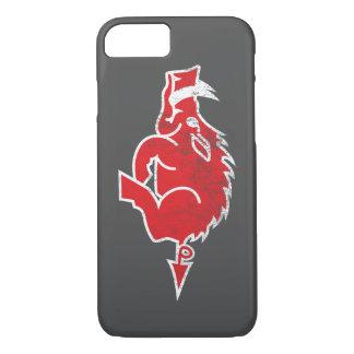 Caja roja del iPhone 7 del cerdo Funda iPhone 7