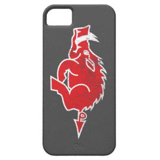 Caja roja del iPhone del cerdo iPhone 5 Fundas