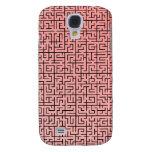Caja roja del iphone del laberinto
