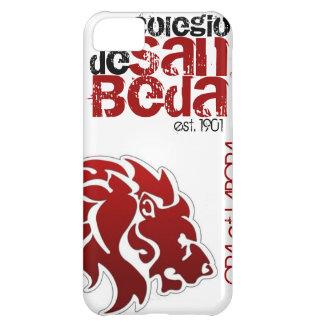 Caja roja del iPhone del león de la universidad de Funda Para iPhone 5C