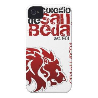 Caja roja del iPhone del león de la universidad de iPhone 4 Case-Mate Carcasas