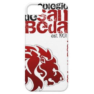 Caja roja del iPhone del león de la universidad de iPhone 5 Fundas