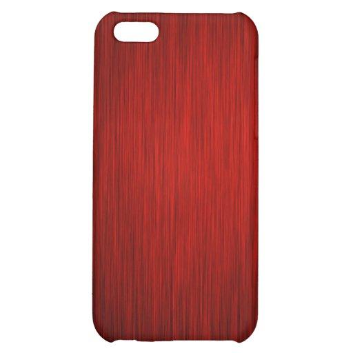 Caja roja del iPhone del metal