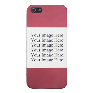 CAJA ROJA DEL PERSONALIZABLE IPHONE DE MOTTELED iPhone 5 COBERTURAS