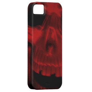 Caja roja del teléfono 5 del cráneo I iPhone 5 Carcasa