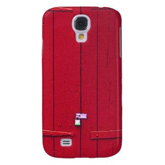 Caja roja del teléfono de los obturadores funda para galaxy s4