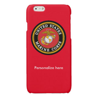 Caja roja del teléfono del Cuerpo del Marines con