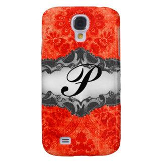 Caja roja del teléfono del damasco de La Habana de Funda Para Galaxy S4