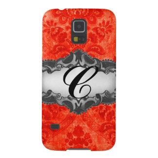 Caja roja del teléfono del damasco de La Habana Carcasa Para Galaxy S5