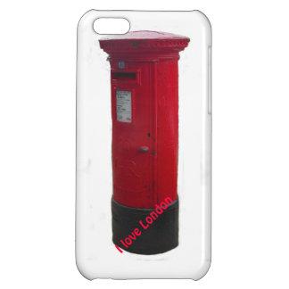 Caja roja icónica del iPhone del buzón - amor Lond