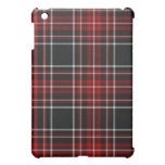 Caja roja llana de la mota del iPad de la tela esc