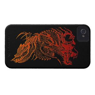 Caja roja mítica del iPhone 4 del diseño del Case-Mate iPhone 4 Protectores