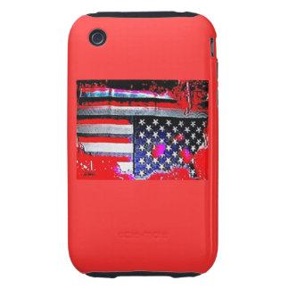 Caja roja radical de Iphone iPhone 3 Tough Coberturas