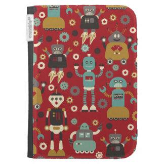 Caja (roja) retra de Caseable de los robots