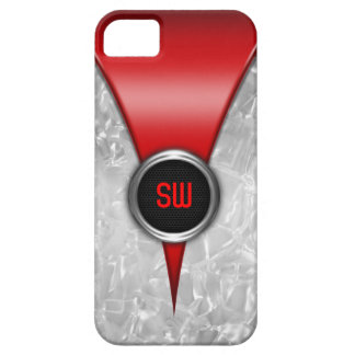 Caja roja retra del iPhone 5 Funda Para iPhone SE/5/5s