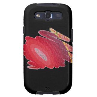 Caja roja S3 de la galaxia de Samsung de los Galaxy SIII Protector
