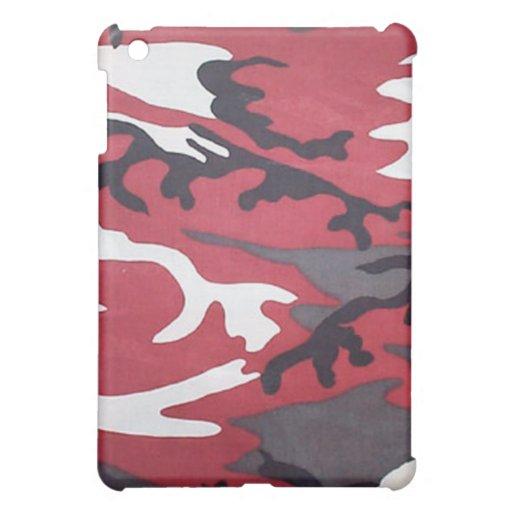 Caja roja sangre del iPad de Camo